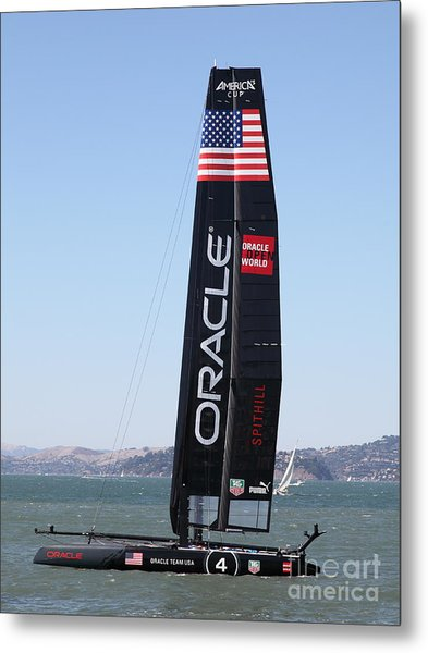 America's Cup In San Francisco - Oracle Team Usa 4 - 5d18225 Metal Print