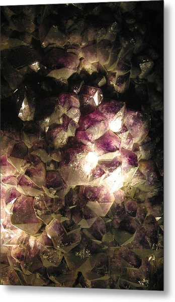 Amethyst Metal Print by Jez C Self