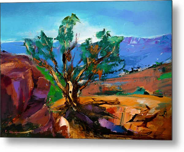 Among The Red Rocks - Sedona Metal Print