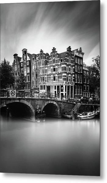 Amsterdam, Brouwersgracht Metal Print