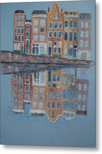 Amsterdam Metal Print by Marina Garrison