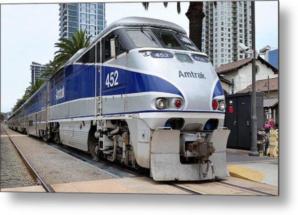 Amtrak F59 At San Diego Metal Print