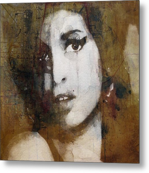 Amy Winehouse Love Is A Losing Game  Metal Print