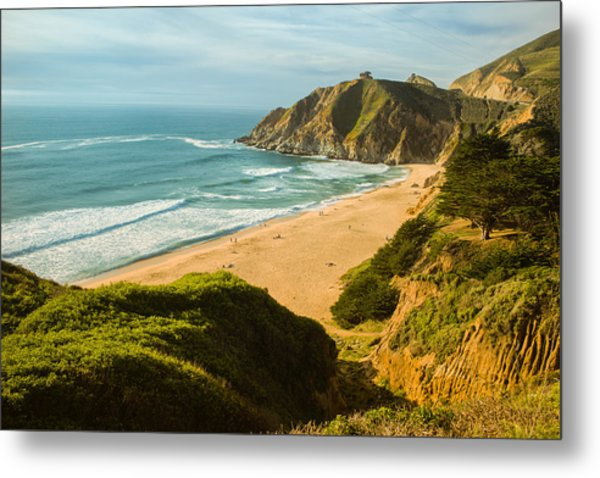 An Afternoon At The Beach Metal Print