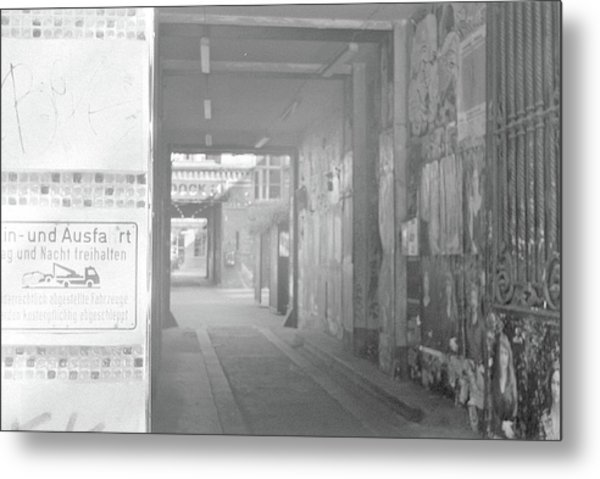 An Alley To A Backstreet Metal Print