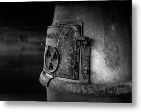 Metal Print featuring the photograph An Antique Stove by Doug Camara