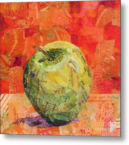 An Apple For Granny Metal Print