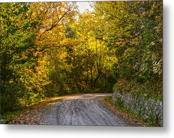 An Autumn Landscape - Hdr 2  Metal Print