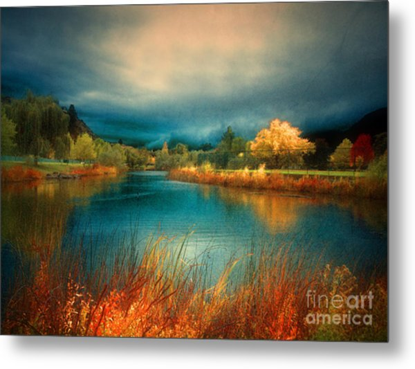 An Autumn Storm Metal Print
