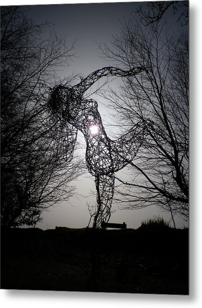 An Eclipse Of The Heart? Metal Print