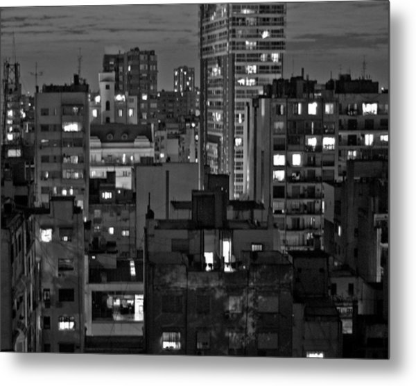 An Evening In Buenos Aires Metal Print