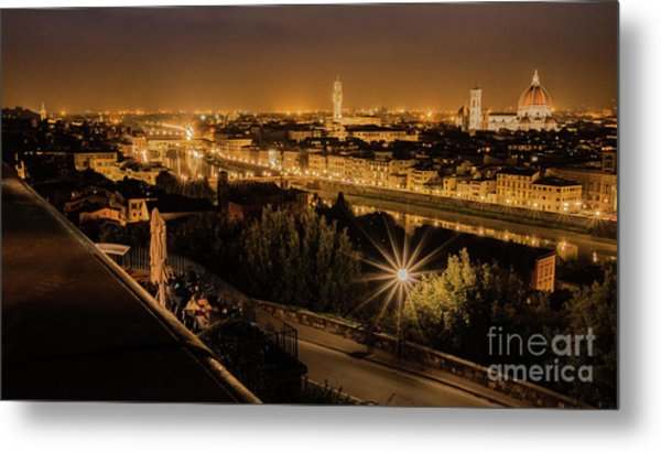 An Evening In Florence Metal Print