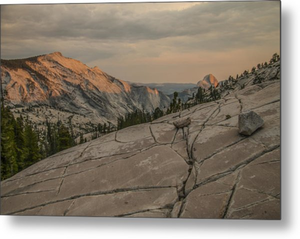 An Evening On Olmstead Point - Pt 1 Metal Print