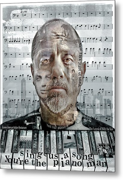 An Innocent Man Metal Print