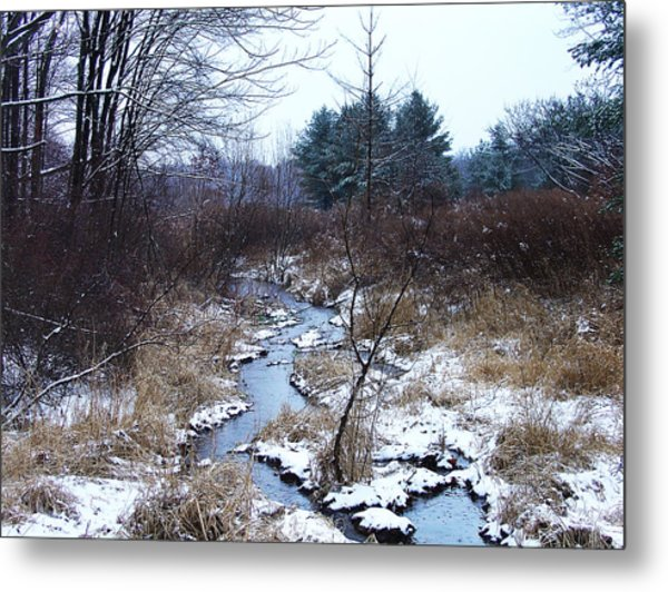 An Intimate Motif In Palenville Metal Print by Terrance DePietro