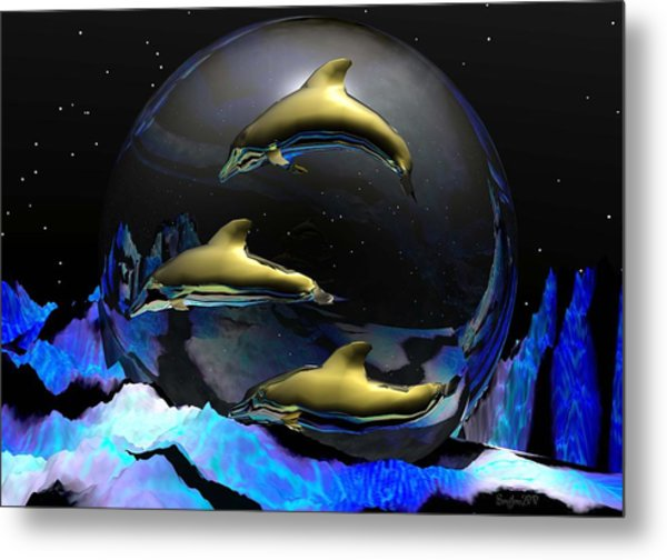 An Ocean Full Of Tears Metal Print