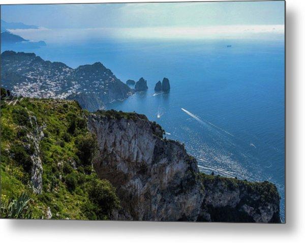 Anacapri On Isle Of Capri Metal Print