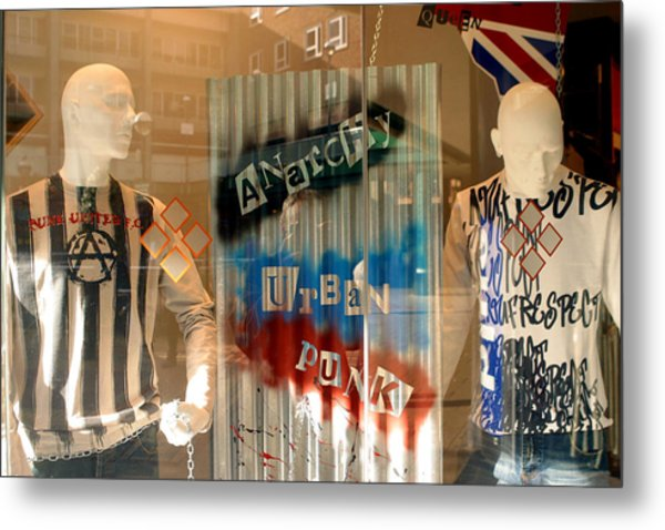 Anarchy In The Uk Metal Print by Jez C Self
