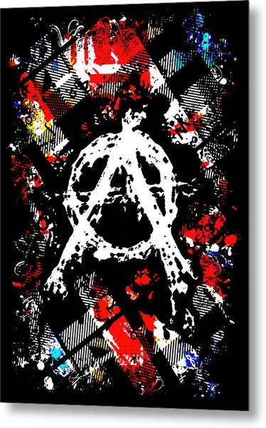 Anarchy Punk Metal Print
