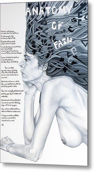 Anatomy Of Pain Metal Print