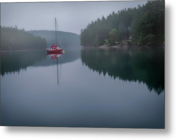 Anchored At Horton Bay Metal Print