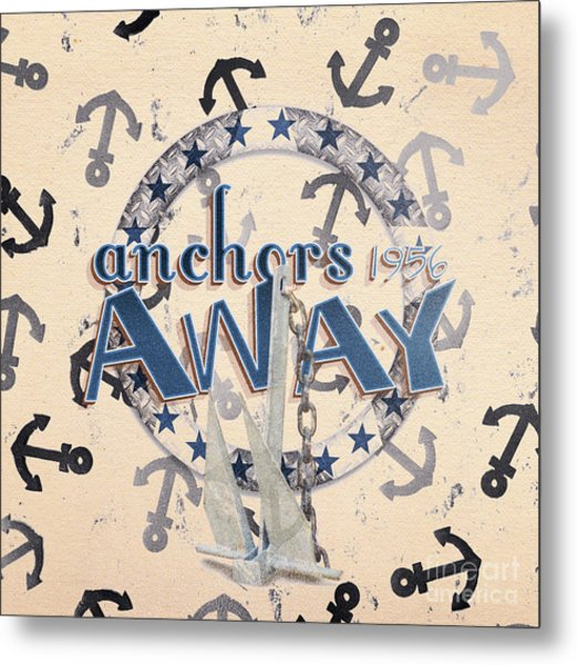 Anchors Away 1956 Metal Print