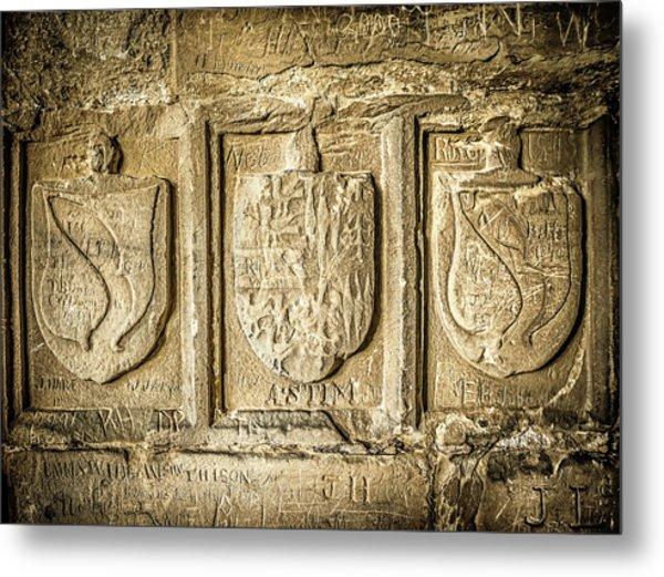 Ancient Carvings Metal Print
