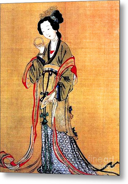 Ancient Chinese Painting Metal Print