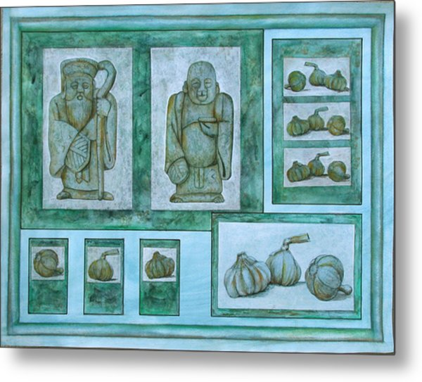 Ancient Cures Metal Print by Sandy Clift