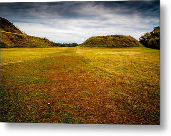 Ancient Indian Burial Ground  Metal Print