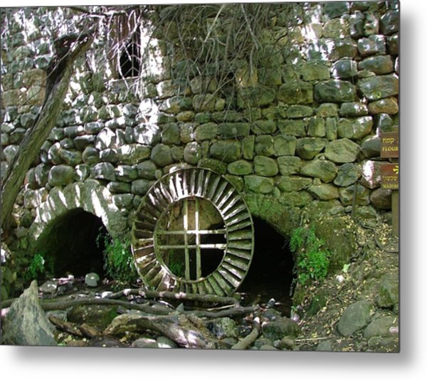 Ancient Mill Metal Print