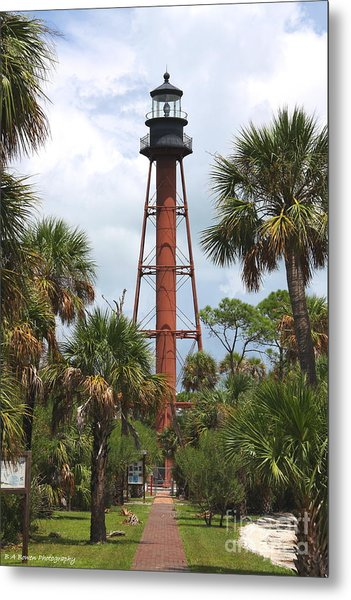 Anclote Key Lighthouse Metal Print