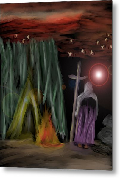 And The Fourth Angel Sounded Metal Print