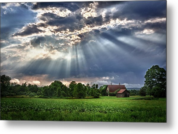And The Heavens Opened 1 Metal Print