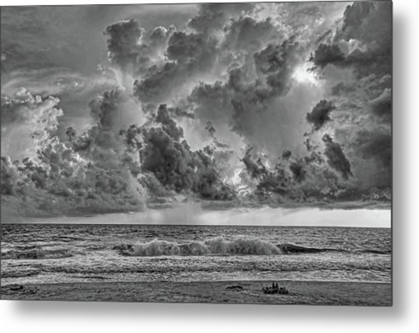 And The Rains Came 2 - Clouds Metal Print