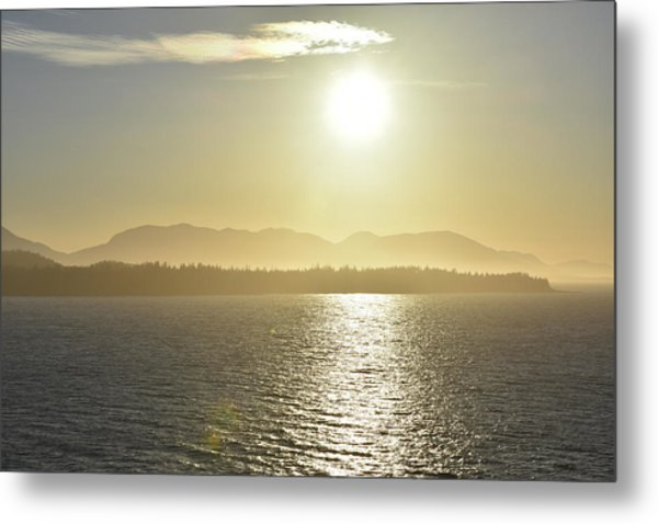 And The Sun Goes Down Metal Print