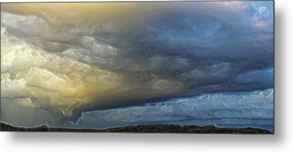And Then It Rained . . . Metal Print