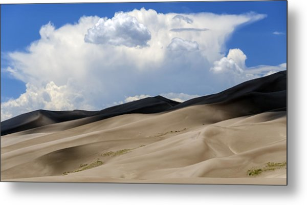 And Then The Storm Metal Print