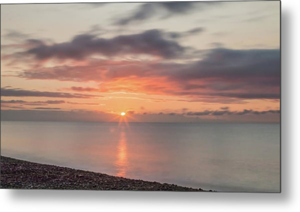 And Then The Sun... Metal Print