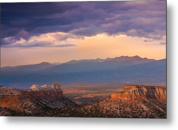 Anderson Overlook Metal Print