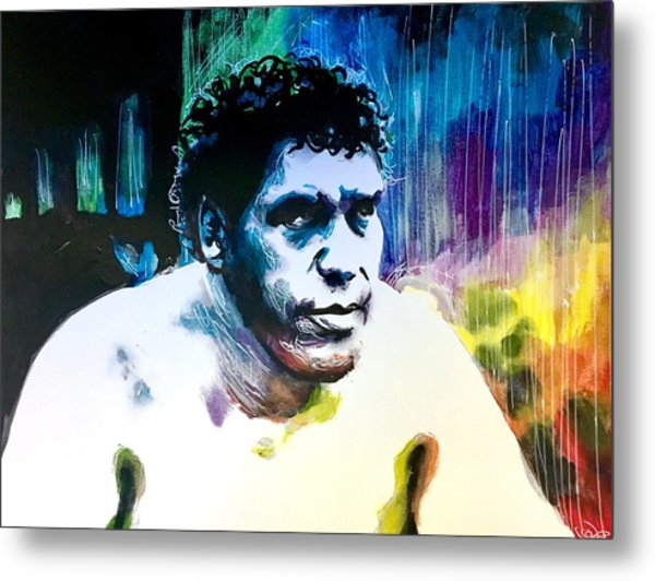 Andre The Giant Metal Print