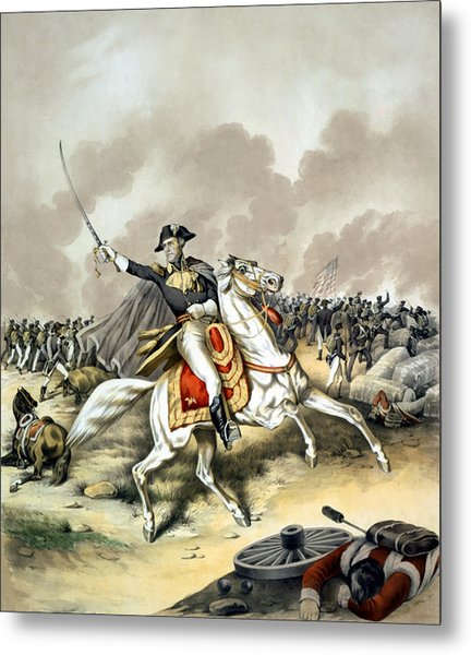 Andrew Jackson At The Battle Of New Orleans Metal Print
