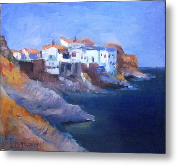 Andros Island Metal Print by George Siaba