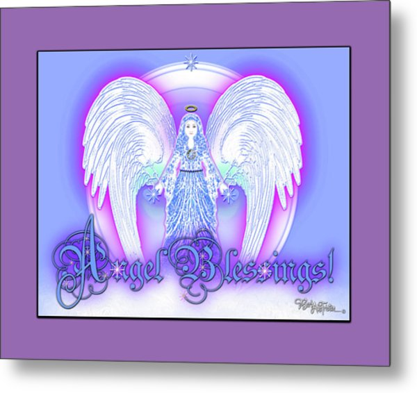 Angel Blessings #196 Metal Print