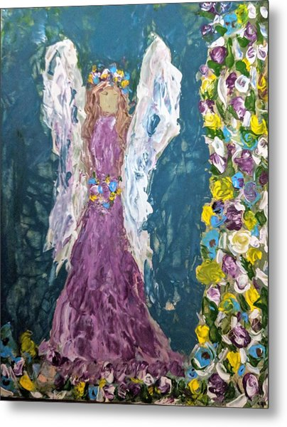 Angel Diva Metal Print