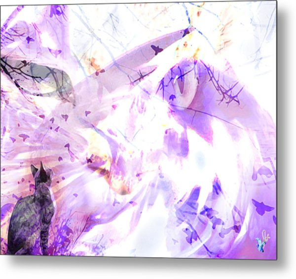 Angel Eyes Metal Print