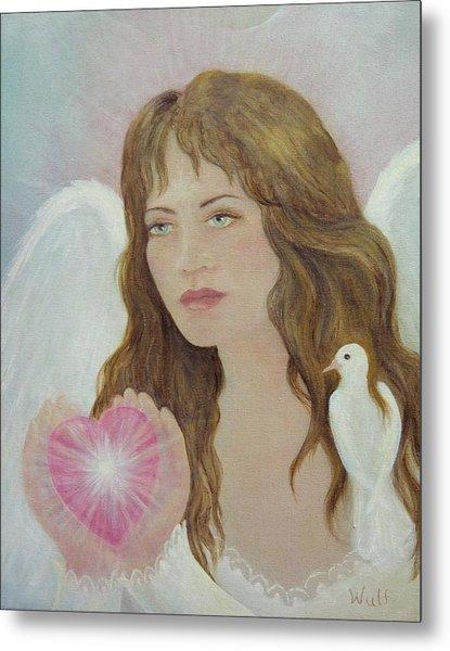 Angel Heart Metal Print