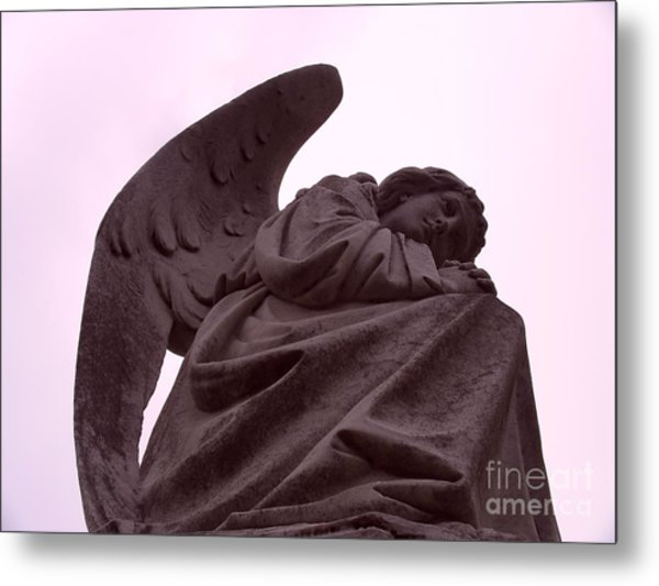 Metal Print featuring the photograph Angel In Repose by Cynthia Marcopulos