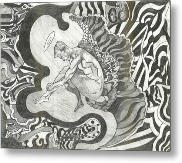 Angel Metal Print by Joseph  Arico