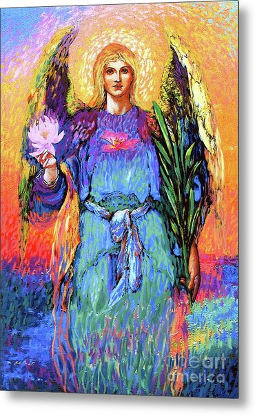 Angel Love Metal Print